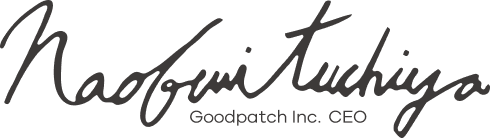 Naohumi Tuchiya Goodpatch Inc. CEO